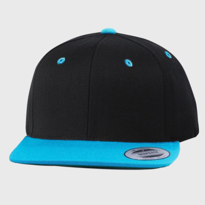 Yupoong 6089 6-Panel Structured Flat Visor Classic Snapback ... 6d5556d46f24